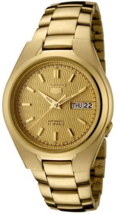 0e0ea78cf Seiko gold4836 Seiko Men's SNK610 Seiko 5 Automatic Gold Dial Gold-Tone  Stainless Steel Watch Watch - For Men - Buy Seiko gold4836 Seiko Men's  SNK610 Seiko ...
