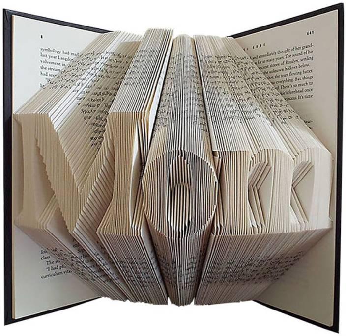 Boston Creative Company Folded Book Art