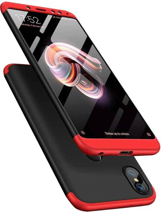 reputable site 866bf 36fd2 PEAKSTERS Front & Back Case for Mi Redmi Note 5 Pro