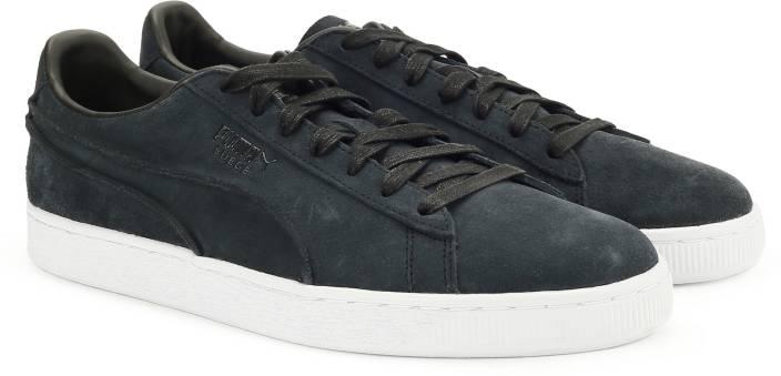 7ec66c0fd68 Puma Suede Classic Exposed Seams Sneakers For Men - Buy Puma Navy ...