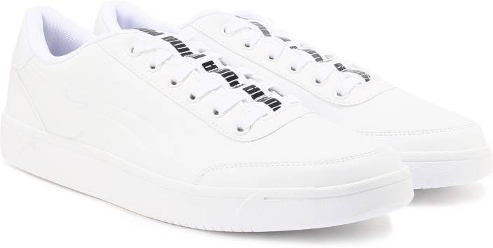 8c5b8ba7fa2f Puma Court Breaker Bold Sneakers For Men - Buy Puma White-Puma White ...