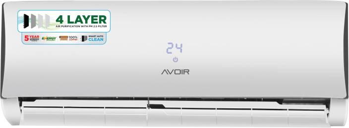41b6757504e Avoir 1.5 Ton 3 Star BEE Rating 2018 Inverter AC - White