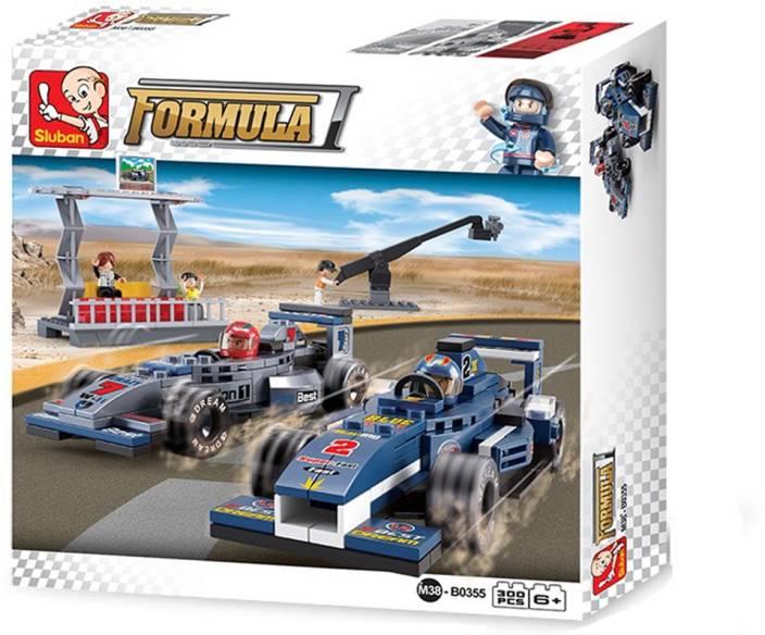 Sluban F1 Racing Department-300PCS