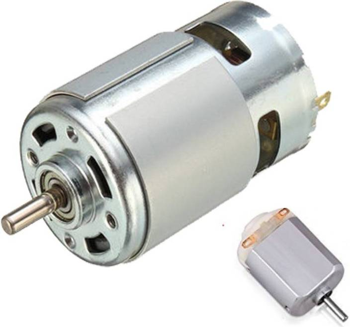 12 Volt Motor >> Brand One 12 V Dc Motor With 6 12 Volt Dc Motor Electronic Components Electronic Hobby Kit