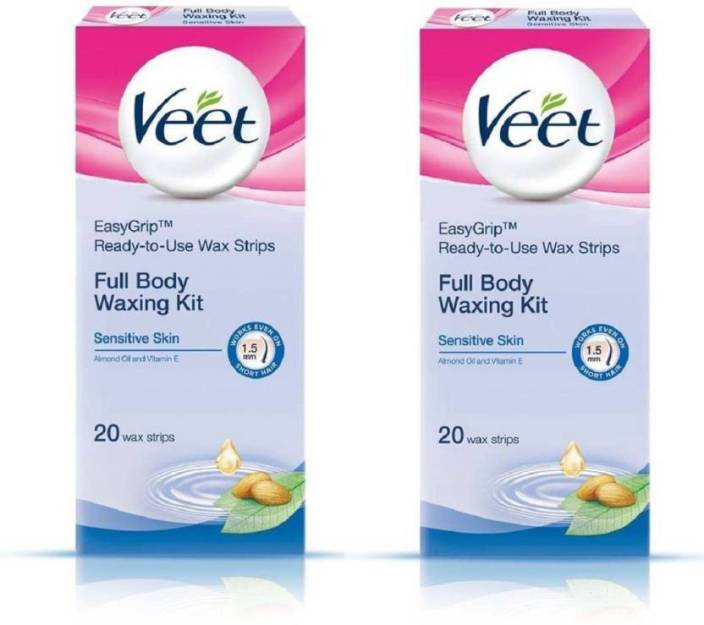 Veet Full Body Waxing Kit Strips Price In India Buy Veet Full