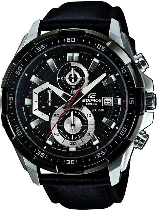 d1544f4933d Casio Edifice Chronograph Black Dial Men s Watch - EFR-539L-1AVUDF (EX193)  Watch - For Men - Buy Casio Edifice Chronograph Black Dial Men s Watch ...