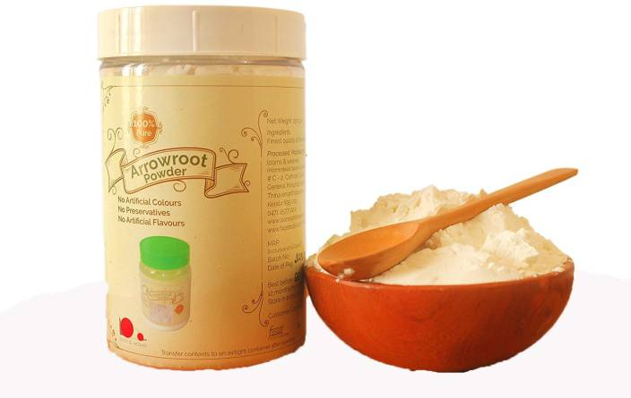 looms & weaves Home Made Arrow Root Powder - 400 gm