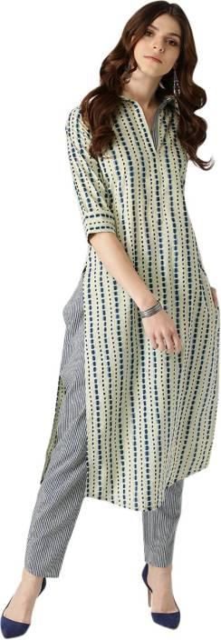 7fad400f7 Libas Women s Kurta and Trousers Set - Buy Beige Libas Women s Kurta ...