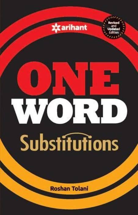One Word Substitution  Buy One Word Substitution by Roshan Tolani at ... 92f0cde80