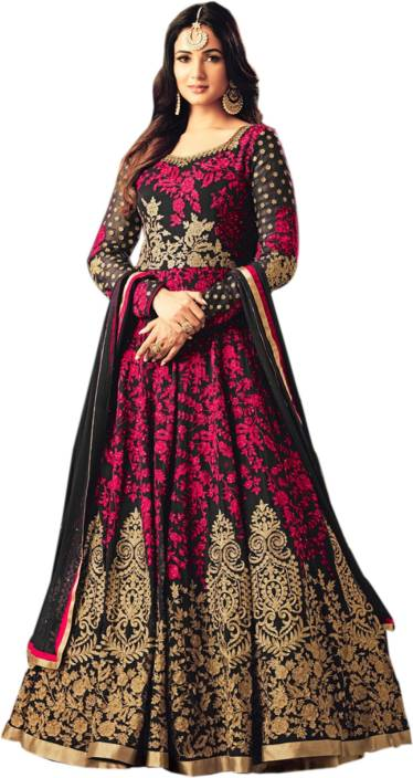 e84bb2e964 Siddeshwary Fab Anarkali Gown Price in India - Buy Siddeshwary Fab ...
