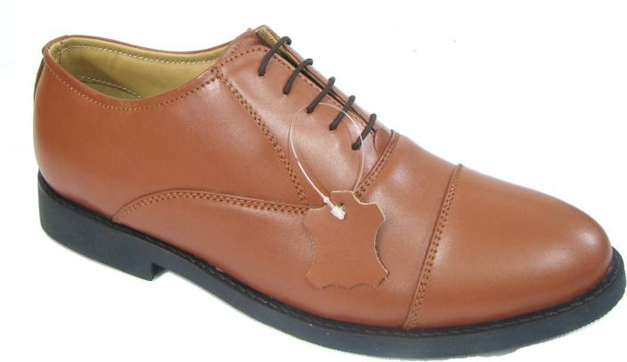 519546b773 ASM Police Tan Colour Leather Oxford Shoes Oxford For Men - Buy ASM ...