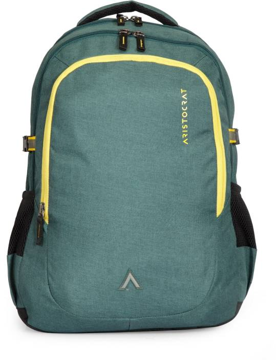 bb3d71fc90d0 Aristocrat Grid 1 34 L Laptop Backpack Green - Price in India ...