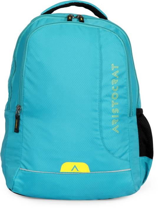 597e1ade740a Aristocrat Zen 2 27 L Laptop Backpack Sea Blue - Price in India ...