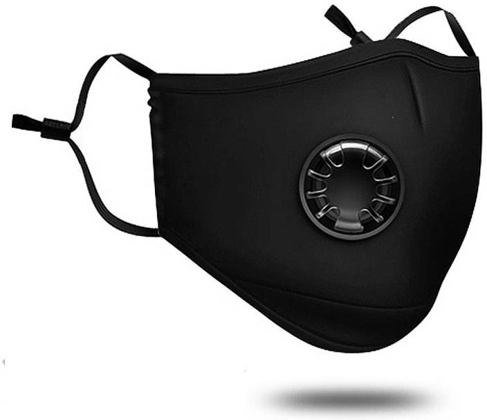 OxiClear Pollution Mask for Bikers & Outdoor Face Mask , 2 Activated Carbon Filters Included, Washable Mask