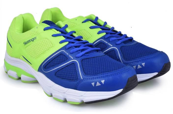 55fb2fa3f9d Slazenger Astron Running Shoes For Men - Buy Blue/Green Color ...
