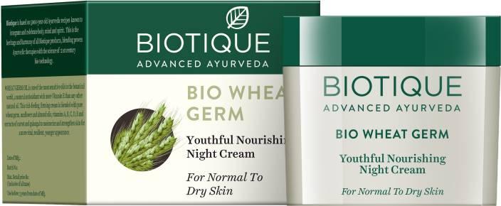biotique bio wheat germ nourishing night cream price in india buy