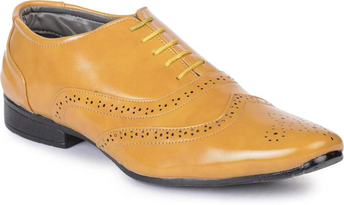 abaa5970a Semana Formal Shoes For Men - Buy Yellow Color Semana Formal Shoes ...