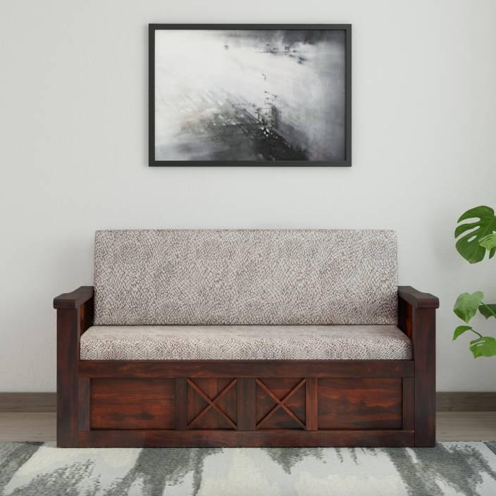 Home Edge Murphy Sheesham Double Solid Wood Sofa Bed