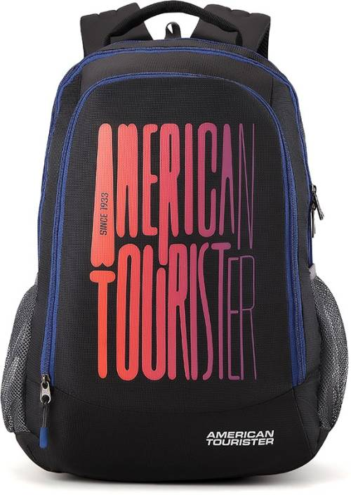 4912eb7c017f23 American Tourister Fizz Sch Bag 32 L Backpack Black - Price in India ...