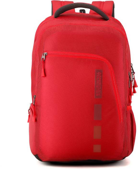 cfb76c2f7779 American Tourister Helix Bag 30.5 L Laptop Backpack Red - Price in ...