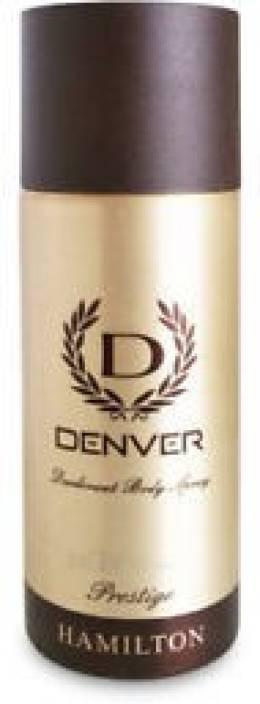 Denver Deo Prestige 165 Ml Deodorant Spray  -  For Men