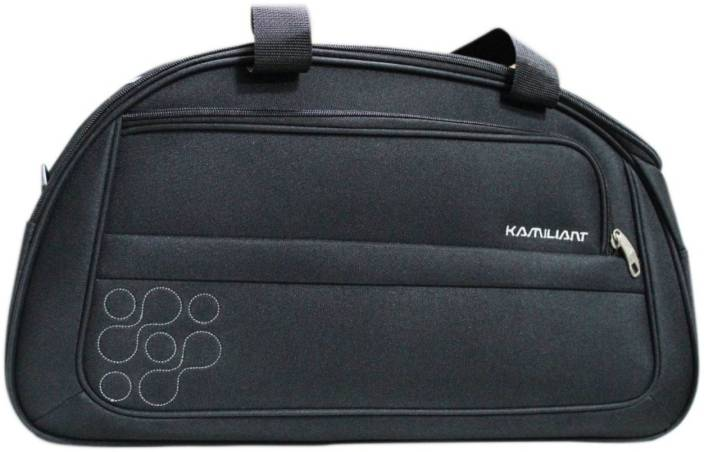 e5244fe04ca Kamiliant Duffle on Wheel 60 cm (Black) Travel Duffel Bag Black ...