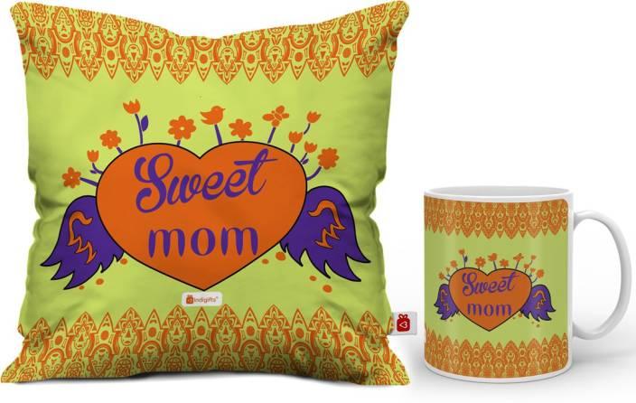 Indigifts Cushion Mug Gift Set Price In India
