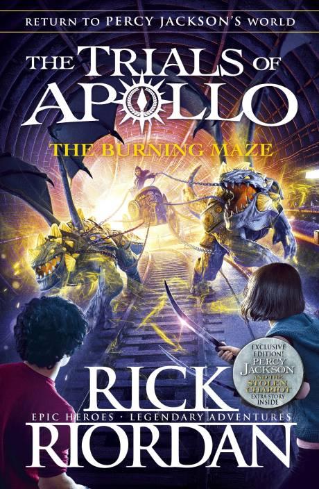The Trials of Apollo The Burning Maze