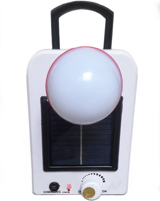 Retails Infinity 12 LED Solar Bulb With Rechargeable Solar Lights Emergency  Light