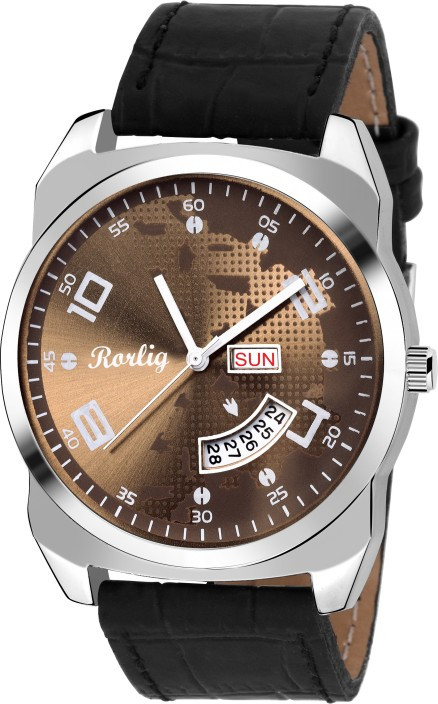 Rorlig RR-2082 Day and Date Watch - For Men