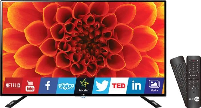 fcd568876 Daiwa 124cm (50 inch) Ultra HD (4K) LED Smart TV Online at best ...