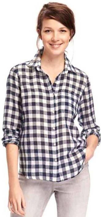 fd783848 CHEEK GLOW Women Checkered Formal Shirt - Buy CHEEK GLOW Women Checkered  Formal Shirt Online at Best Prices in India   Flipkart.com