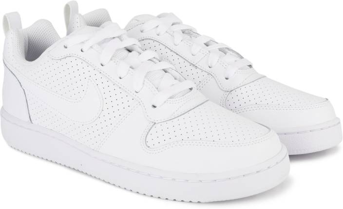 Nike WMNS NIKE COURT BOROUGH LOW Sneakers For Women - Buy WHITE ... f4337dd4f