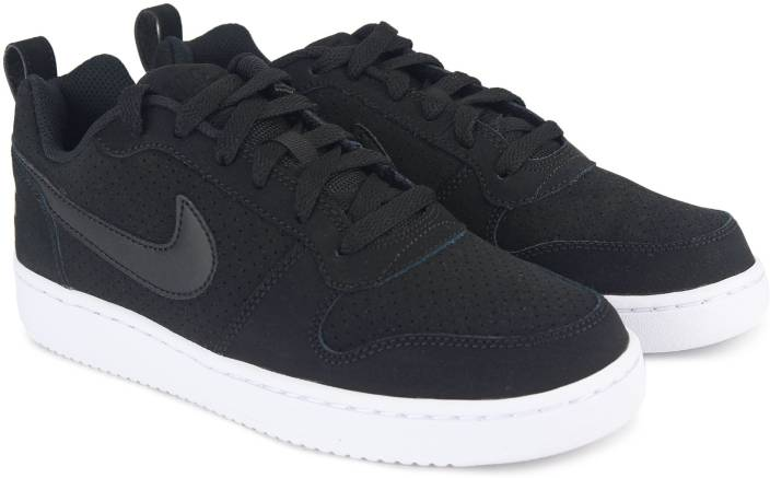 huge discount 447b8 83fba Nike WMNS NIKE COURT BOROUGH LOW Sneakers For Women (Black)