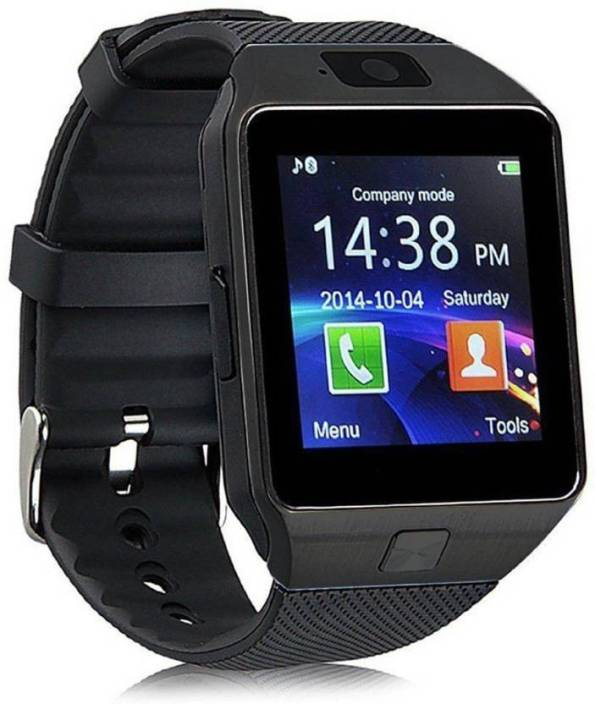 84cc3602fa6 Pop Vivo   Mi 4G Calling Smart Mobile watch Compatible With Android   Ios  Smart Watch Strap (Black)