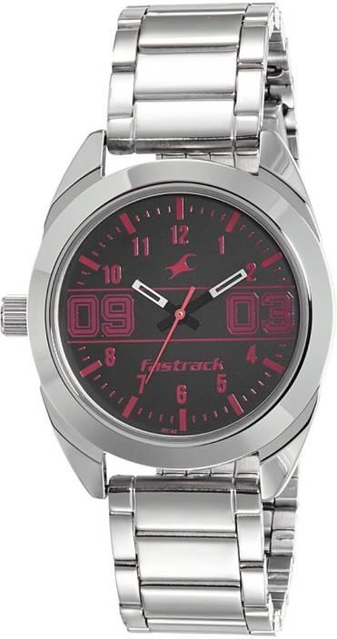4d049e304 Fastrack Varsity Analog Silver Dial Women s Watch Varsity Watch - For Women