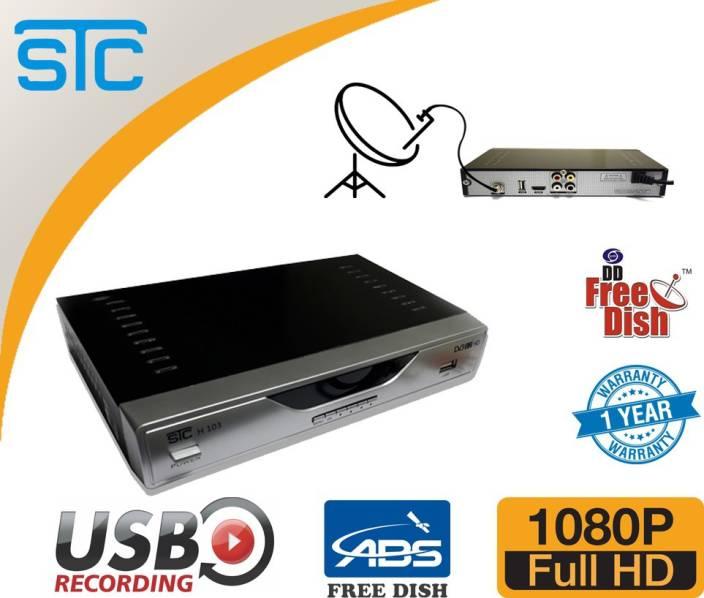 STC H-103 DD Free to air set top box (Digital Satellite Receiver) HD Set  Top Box Media Streaming Device