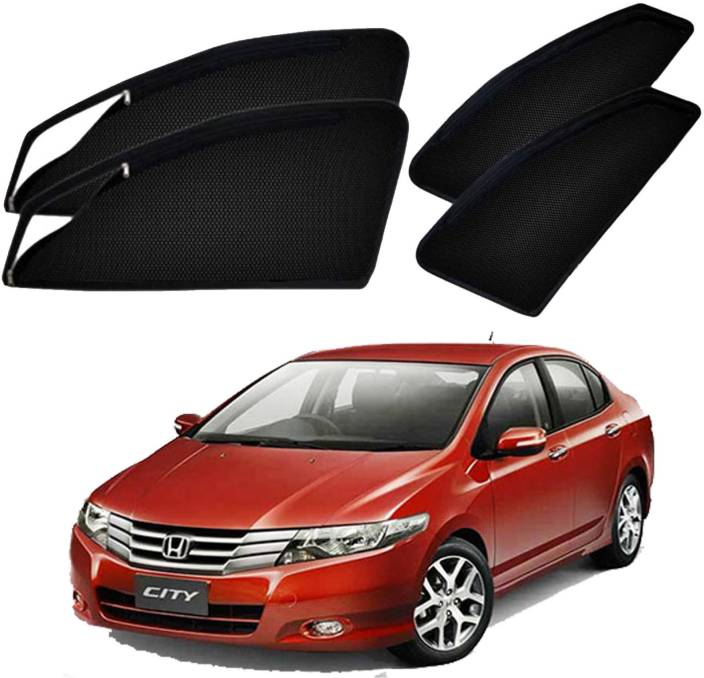 Honda City Price In India >> Uk Blue Side Window Sun Shade For Honda City