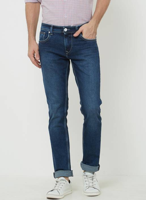 dcc32836 LAWMAN PG3 Slim Men Blue Jeans - Buy LAWMAN PG3 Slim Men Blue Jeans Online  at Best Prices in India | Flipkart.com