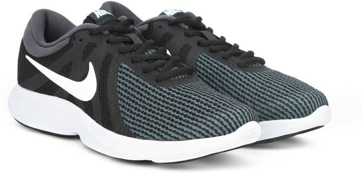 a3999fd3077a Nike WMNS NIKE REVOLUTION 4 Running Shoe For Women - Buy BLACK WHITE ...