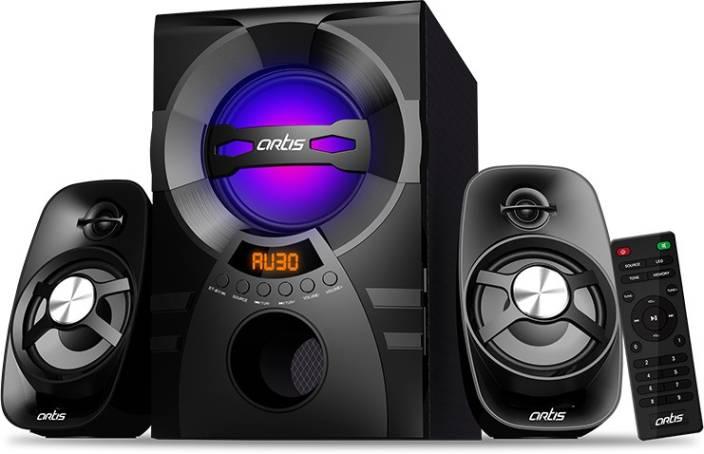 Buy Artis Ms304 2 1 Ch Wireless Multimedia Speaker System With Fm Sd