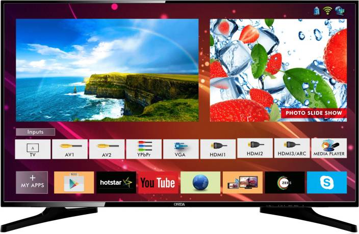 on sale 75f9e e93ef Onida Live Genius 2 107.95cm (43 inch) Full HD LED Smart TV (43FIS-W)