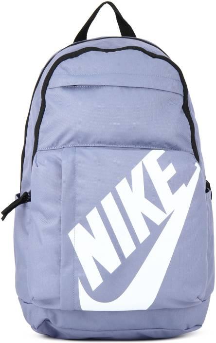 Nike NK ELMNTL BKPK 10 L Backpack PURPLE SLATE BLACK WHITE - Price ...