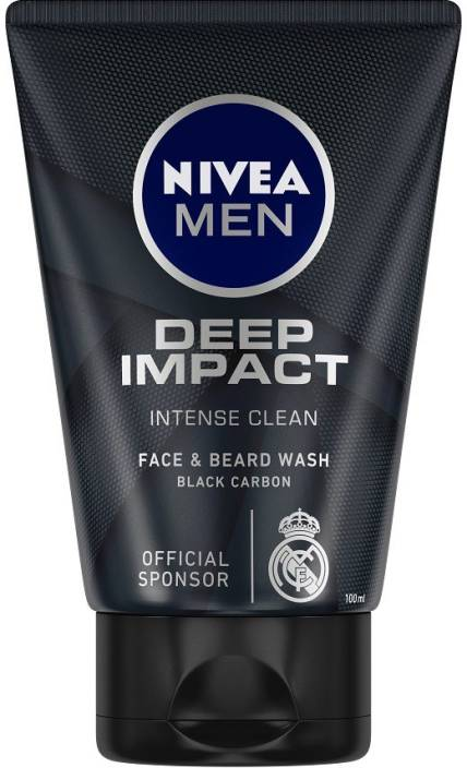 Nivea Men Deep Impact Face Wash  (100 g)