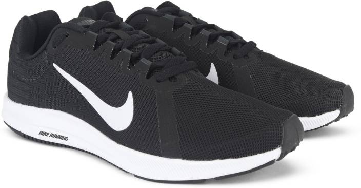 55006cfa4ae2 Nike WMNS NIKE DOWNSHIFTER 8 Casuals For Women - Buy BLACK WHITE ...