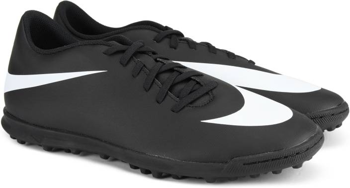 c13c1d48444f Nike NIKE BRAVATA II TF Football Shoes For Men - Buy BLACK/WHITE ...