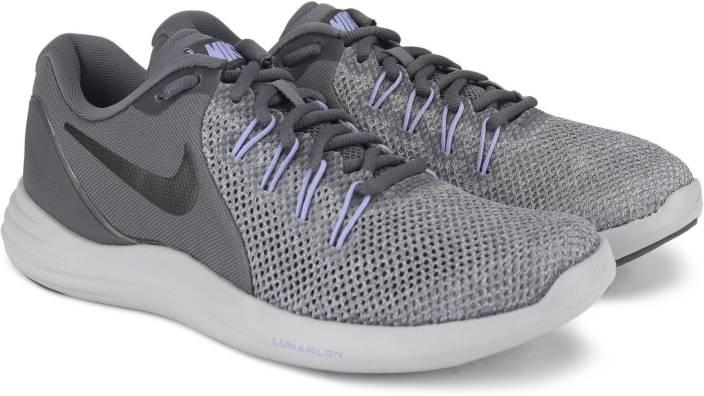 huge discount d57aa 19f00 Nike WMNS NIKE LUNAR APPARENT Casuals For Women (Grey)