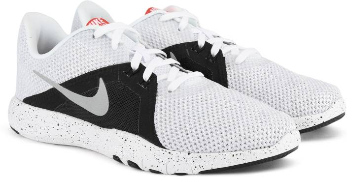 48efe238256ff Nike W NIKE FLEX TRAINER 8 Casuals For Women - Buy WHITE METALLIC ...