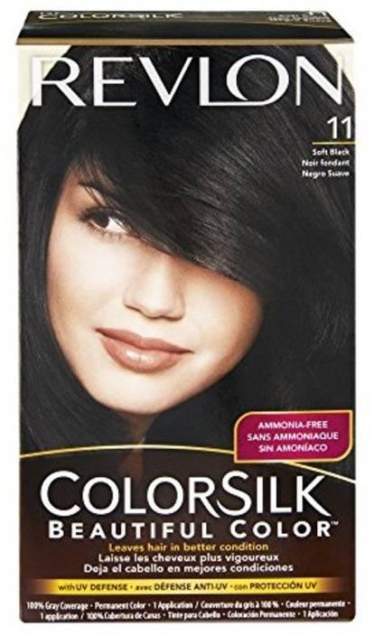 Znalezione obrazy dla zapytania revlon colorsilk soft black 11