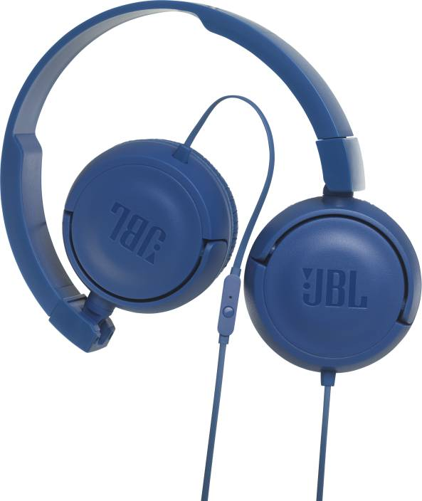 7f1b6ca1269 JBL T450 BLUE Wired Headset with Mic Price in India - Buy JBL T450 ...